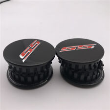 4PCS  2016-2018 Black Center Cap Hub cap  SS Logo For Camaro Corvette 19351758