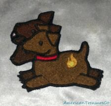 Embroidered Baby Cerberus 3-Headed Dog Kid Monster Horror Patch Iron On Sew USA
