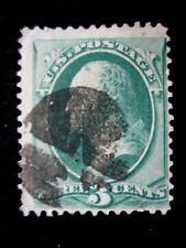 US - SCOTT# 136A - USED - CAT VAL $100.00