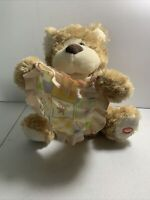 "Peek-A-Boo Soft Teddy Bear Animated Stuffed Animal Plush 12"""