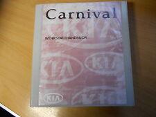 Werkstatthandbuch KIA Carnival (Benziner, Diesel) 1999-2000