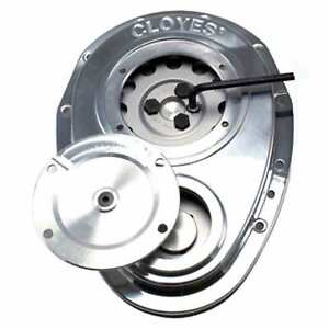Cloyes Gear 9-221 Timing Cover SBC Quick Button Two Piece Cover
