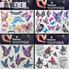 Temporary Butterfly Tattoo Sticker Body Art Removable Waterproof  Stickers USA