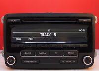 VW JETTA EOS TRANSPORTER POLO TIGUAN SHARAN RCD310 MP3 CD RADIO CAR STEREO CODE