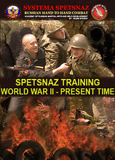 RUSSIAN SYSTEMA TRAINING DVD - Spetsnaz Training World War 2 To Present Time