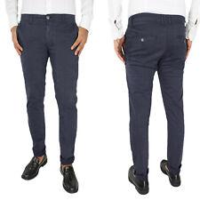 Pantalone Uomo Elasticizzato Invernale Chino Jeans SlimFit Casual Elegante VEQUE