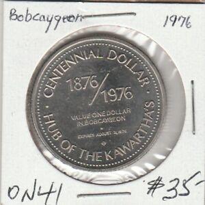 Bobcageon, ON 1976  Trade Dollar