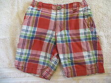 EUC P.S. Aeropostale Plaid Shorts Size 5