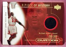 Michael Jordan Bulls 2000-01 UD Ovation A Piece of History Game Worn Shoe #MJ-S