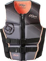 O'Brien Women's Flex V-Back Life Vest, Medium, Gray