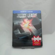 Justice League - Blu-ray 2D & 3D Combo Steelbook Korean Edition (2018)