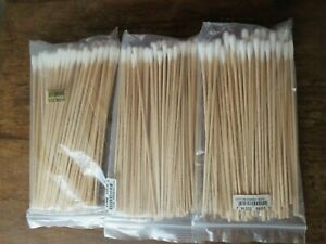 Cotton Swabs 3 packs -100 each - new and sealed