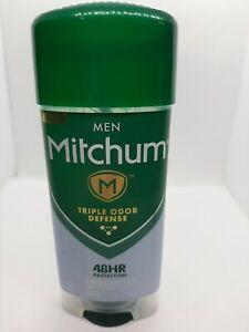 Mitchum Men Gel Antiperspirant Deodorant Unscented 3.4 oz, 48 HR