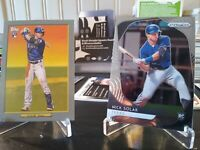 2020 Topps NICK SOLAK Rookie Card Lot (2) Prizm and Turkey Red - Texas Rangers