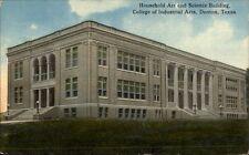 Denton TX College of Industrial Arts c1910 Postcard
