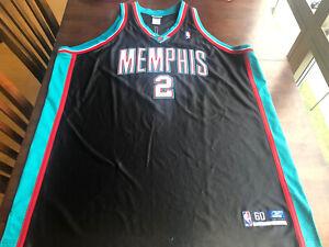 100% Pro Cut Reebok Authentic Memphis Grizzlies # 2 Jason Williams Jersey SZ 60