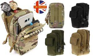 Unisex Tactical Military Waist Belt Bag Pack Accessories Phone Document Pouch