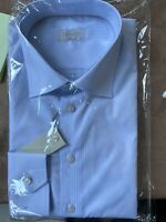Eton Shirt Size 44 Contemporary 17 1/2