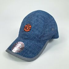 Mitchell Ness New York Knicks Blue Hat OSFA Adjustable NBA Basketball