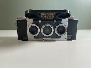 Vintage Stereo Realist Camera f3.5 Hyperfocal Film 1950's