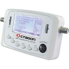 Octagon SF 418 HQ Satfinder LCD HD HDTV FULLHD 3D Sat Finder Satelitten schüssel