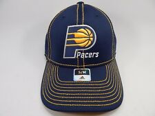 Indiana Pacers Adidas Small/Medium S/M Fitted Official NBA Blue Cap Hat NEW!