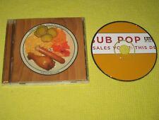 Sub Pop Terminal Sales Vol 2 This Delicious 2006 CD Album MINT ft Mudhoney