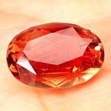 ORANGE RED PINK SCHILLER OREGON SUNSTONE 4.85Ct FLAWLESS-INVESTMENT GRADE-VIDEO!
