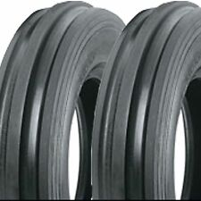 2) 6.00-19 600-19 6.00x19 600x19 F-2 FRONT TIRES DS5155
