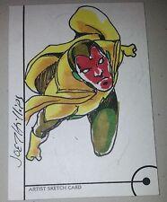 MARVEL FLEER RETRO SKETCH CARD Jovenal Mendoza / VISION