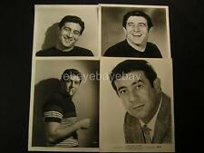 Harvey Lembeck VINTAGE 4 Assorted Movie PHOTO LOT 394E