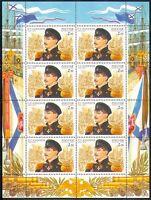 Russia 2002 Military/Naval/Navy/Nakhimov 8v sht n31241