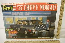Vintage 1988 Revell '57 Chevy Nomad Skip's Fiesta 1:25 Scale Model Car Kit 7163