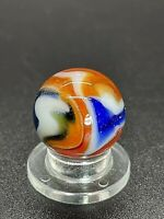 "🔥Peltier Glass Co Peltier Flaming NLR Liberty Marble 0.629"" Mint W/as Mades🔥"