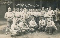 Group of Soldiers Real Photo Postcard rppc