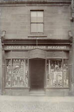 More details for ? alnwick shop front. edwin grey, grocer & provision merchant.