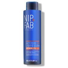 NIP+FAB Glycolic Fix Liquid Glow Extreme 6% Glycolic Acid Exfoliating Toner NEW