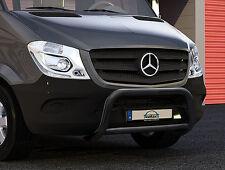 Frontbügel schwarz für DB Sprinter ab 2013 kompatibel mit Fahr-/Parkassistenten