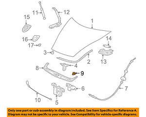 PORSCHE OEM 95-05 911 Hood-Front Cover Fastener 9995900364001C