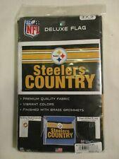 Pittsburgh Steelers 3 X 5 Deluxe Flag - Unused