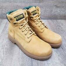 """Wolverine Cheyenne 6"""" Mens Work Boot Wp Insulated Non-Slip Lace Up Size 10"""