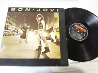 "BON JOVI Ersten Press 1987 Spain Edition LP vinyl Vinyl 12 "" VG/VG"
