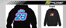 CUSTOM NAME AND NUMBER  HOODIE SWEAT SHIRT MX MOTOCROSS  Style #11