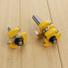 "1-1/2"" 2 Bit Tongue and Groove Router Bit Set"