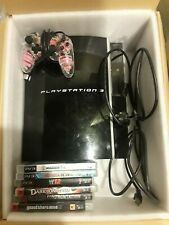 PS3 PlayStation 3 40GB CECH01 Controller Games Bundle NOT BACKWARDS COMPATABLE