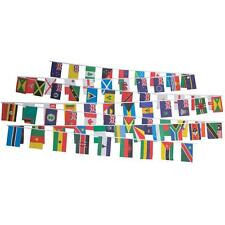 More details for commonwealth games bunting flags 54 nations country - 16 metres 54 ft