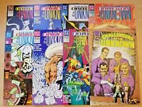 Challengers of the Unknown issues 1-8 (DC 1991 comic lot/run) 2 3 4 5 6 7