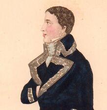 Portrait XIXe Lucien Bonaparte Ajaccio Corse Premier Empire Napoleon