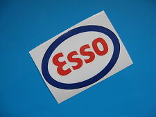 ESSO oil sticker/decal x2