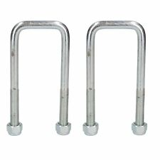 2 Twin Parabolic Leaf Spring High Tensile U Bolt for Ifor Williams Trailers